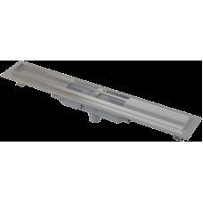 Alcaplast APZ1101-1050-LOW podlahový žlab v.55mm SNÍŽENÝ svislý odtok kout min. 1000mm (APZ1101-1050)