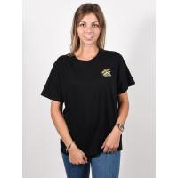 Element B-SIDE WO black dámské tričko s krátkým rukávem - M