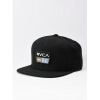 RVCA 9VOLT black pánská kšiltovka