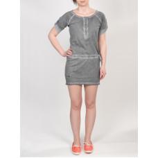 Horsefeathers INKA washed gray společenské šaty krátké - S