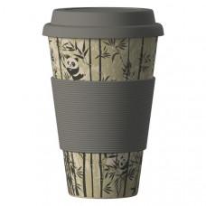 Bamboo Cup Ekologický termohrnek Panda 0,4l