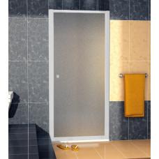 SanSwiss ECOP 1000 01 22 Jednokřídlé dveře 100 cm, matný elox/durlux