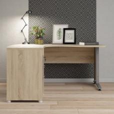 Rohový psací stůl Prima 80410 dub struktur - TVI