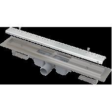 Alcaplast Podlahový žlab 650mm antivandal s roštem BUBLE lesklý APZ11-650L (APZ11-650L)