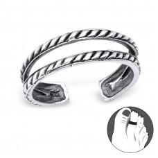 OLIVIE - stříbrný prsten 0433