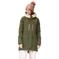 Picture Camden 10/10 ARMY GREEN zimní bunda dámská - S