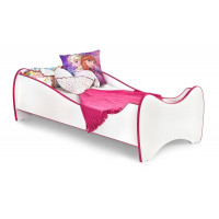 Dětská postel Duo růžová - HALMAR