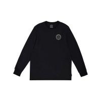 Billabong ROTOR ADIV black pánské tričko s dlouhým rukávem - XL