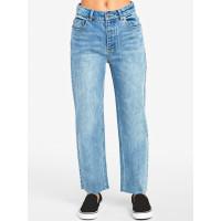 RVCA HOLLI WORN BLUE značkové dámské džíny - 26