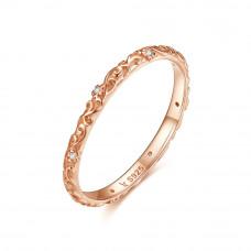 OLIVIE Stříbrný prsten VINTAGE ROSE 3446 Velikost prstenů: 6 (EU: 51 - 53)