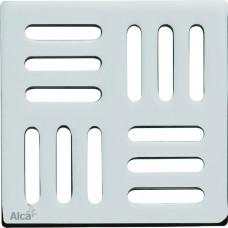 Podl.vpusť-ND Designová mřížka 102x102x4 nerez ALCAPLAST MPV001 (MPV001)