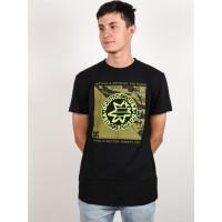 Dc RULES DEFINITIO black pánské tričko s krátkým rukávem - M