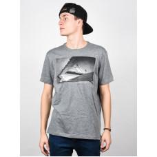 Element FRENCH FRED grey heather pánské tričko s krátkým rukávem - S