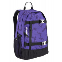 Burton WMS DAY HIKER GRAPE MODERN FLORAL studentský batoh
