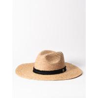 Rip Curl SUNSETTERS STRAW PAN NATURAL dámský slaměný klobouk - S