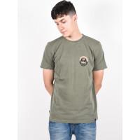 Animal WINGS Dusty Olive Green pánské tričko s krátkým rukávem - L