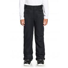 Roxy BACKYARD GIRL TRUE BLACK zateplené kalhoty dětské - 10/M