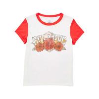 Billabong WILD BLOOM TERRACOTA dámské tričko s krátkým rukávem - S
