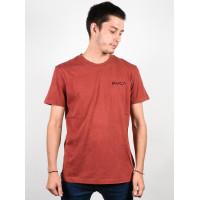 RVCA VENOM rosewood pánské tričko s krátkým rukávem - M