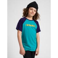 Burton VAULT dynasty green dětské tričko s krátkým rukávem - L