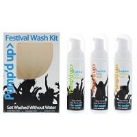 Pump'd UP 99% Dezinfekční Kit (dezinfekční šampón, sprchový gel a ruční dezinfekce) 3*70g