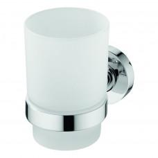 Ideal Standard Kelímek na zubní kartáček, satinované sklo, chrom A9120AA