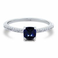 OLIVIE Stříbrný prsten NOČNÍ OBLOHA 5105 Velikost prstenů: 5 (EU: 49-50)