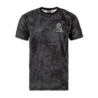 Horsefeathers DOODLE LUCAS ASPHALT pánské tričko s krátkým rukávem - M