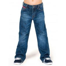 Horsefeathers DARTH mid blue dětské džíny - 13+