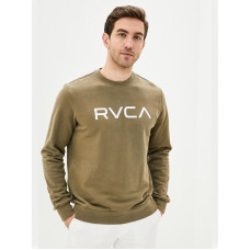 RVCA BIG RVCA olive pánská mikina - XL