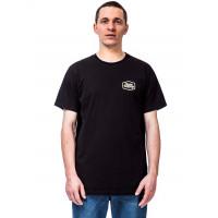 Horsefeathers FAB black pánské tričko s krátkým rukávem - M