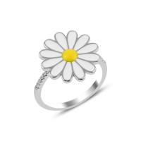 OLIVIE Stříbrný prsten KOPRETINA 3178 Velikost prstenů: 7 (EU: 54 - 56)