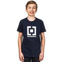 Horsefeathers BASE NAVY dětské tričko s krátkým rukávem - XL