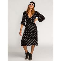 Billabong DREAM BIG black společenské šaty krátké - S