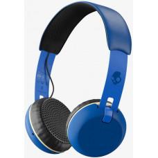 Skullcandy Grind Wireless On-Ea royal/cream/blue velká sluchátka uzavřená