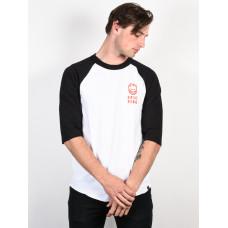 Spitfire STEADY ROCKIN WHT/BLK/RED pánské tričko s krátkým rukávem - L