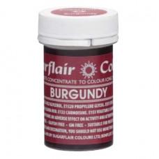 Sugarflair Gelová barva potravinářská Burgundy 25g