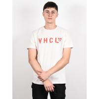 Vehicle TEAM white pánské tričko s krátkým rukávem - XL