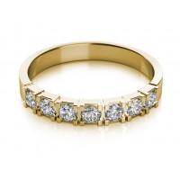 Couple Zlatý dámský prsten Alexis 6810470 Velikost prstenu: 55