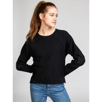 RVCA LEVERAGE black dámský značkový svetr - S