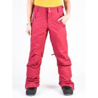 Roxy WINTER BREAK BEET RED zateplené kalhoty dámské - S