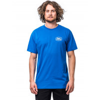 Horsefeathers FAB IMPERIAL BLUE pánské tričko s krátkým rukávem - L