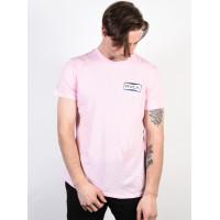 RVCA REREDS ROSEMIST pánské tričko s krátkým rukávem - M