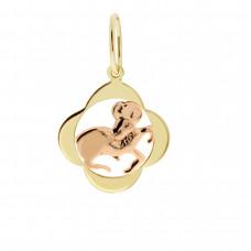 Zlato Zlatý přívěsek znamení zvěrokruhu 3220065 Znamení zvěrokruhu: Beran