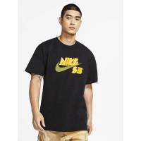 Nike SB LOGO black pánské tričko s krátkým rukávem - M