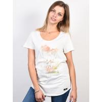 Picture Wild white dámské tričko s krátkým rukávem - S