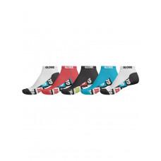 Globe PINATA ANKLE 5PK ASSORTED pánské kotníkové ponožky - 7-11
