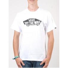 Vans OTW white/black dětské tričko s krátkým rukávem - L