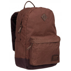 Burton KETTLE COCOA BROWN WAXED CANVAS studentský batoh - 20L