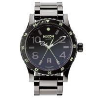 Nixon DIPLOMAT SS POLISHEDGUNMETALLUM pánské hodinky analogové